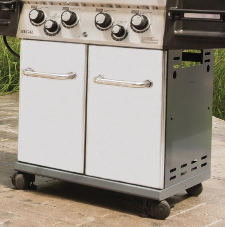 Broil King Regal S590 Pro - Chowana butla