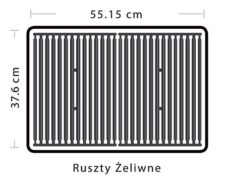 Broil King Royal 320 - Ruszty żeliwne