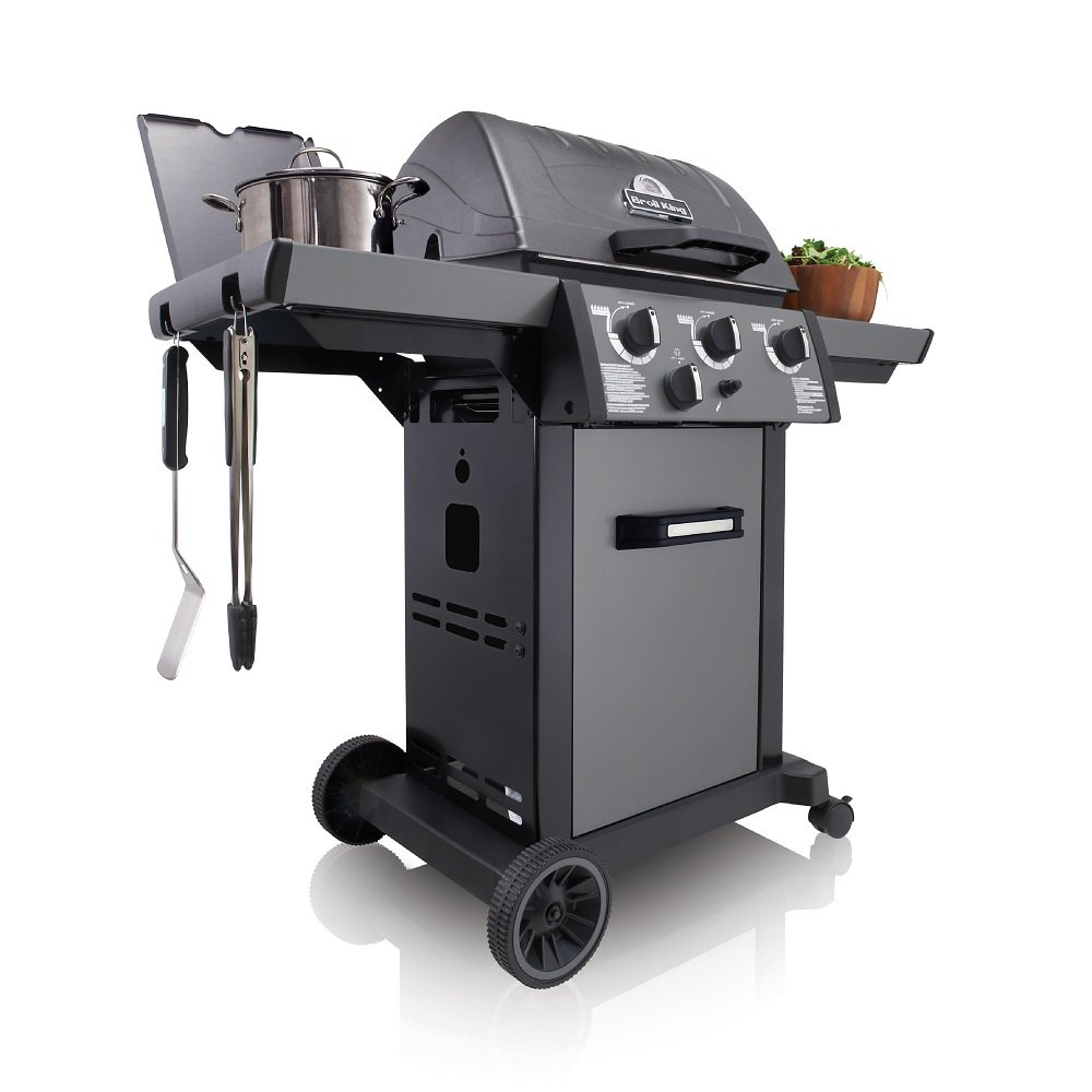 Grill gazowy • Royal 340 Grey • Model 2018