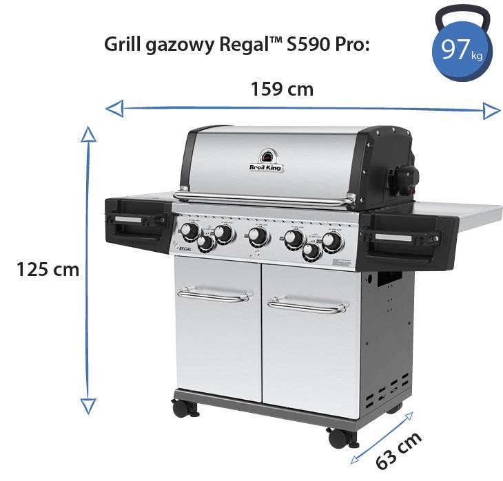 Grill gazowy • Regal S590